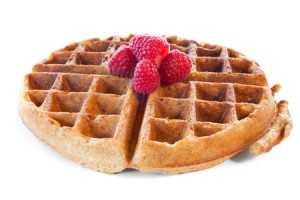 Waffles for a healthy snacks