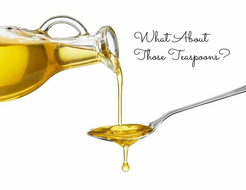 What about those teaspoons on the 21 Day Fix? Oils and Nut Butters