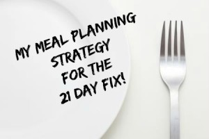 21 Day Fix Meal Planning: A few simple steps take the frustration out of planning.