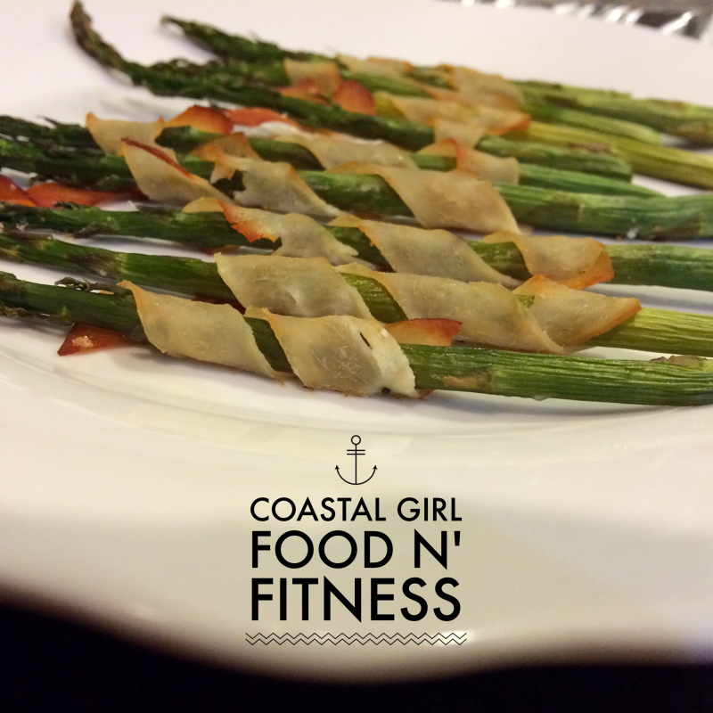 Turkey Wrapped Asparagus Spears is a great choice to serve or bring to a party and stay on track with a healthy eating plan. It can be easily incorporated into the 21 Day Fix Plan.