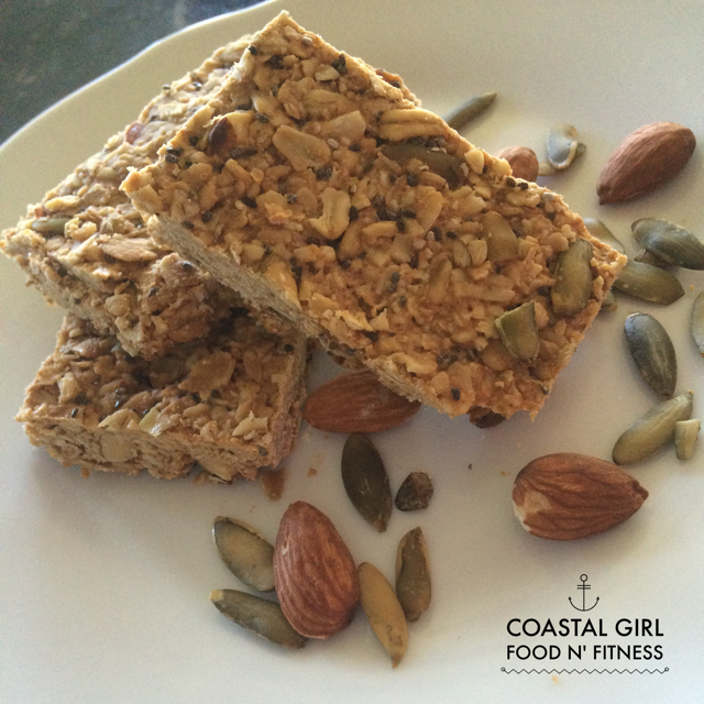 Healthy Granola Bars! These gems are full of superfoods and are easy to make!