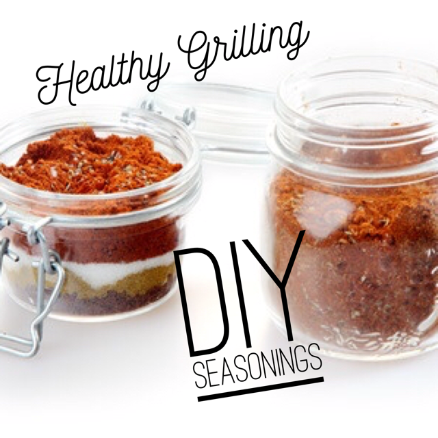 Healthy Grilling! DIY Seasonings - perfect for summertime grilling on the 21 Day Fix Plan!