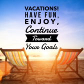5 tips for station on your healthy eating plan when on vacation.