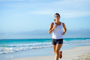 The sand provides resistance, using up more calories!